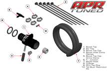 APR Modular Boost Tap and PCV Bypass System FULL KIT