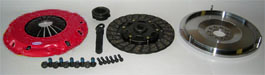 1.8T SINGLE MASS CLUTCH KIT W/FLYWHEEL STAGE 2 (FITS AUDI MK1 TT & MK4 GOLF JETTA 1.8T  W/ 5SP)