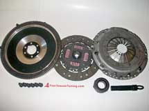 FST 228MM L/W Aluminum Flywheel W/ SACHS VR6 CLUTCH KIT for 5-Speed (FITS VW MK5 JETTA RABBIT BEETLE W/ 2.5)  Stage 1