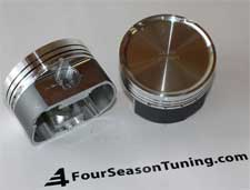 WOSSNER FORGED PISTON SET  2.0 20V Stroker  82.50 MM  Comp. ratio  9.2:1 ( VW Audi)