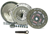 1.8T SINGLE MASS CLUTCH KIT W/14 POUND CAST FLYWHEEL  (FITS 02A/02J)