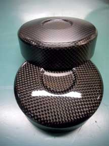 Carbon Fiber strut cap  (fits Corrado VR6, all MK3 Golf Jetta)