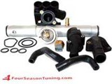 VR6 12V COOLING KIT (Late 93 Corrado & Passat MK3 GOLF JETTA ) INCLUDES Stainless Steel PIPE /
