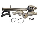 All Cast Aluminum Cooling kit for a 12V VR6 w/ hoses /