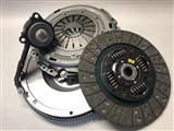 CLUTCHNET STAGE 3 CLUTCH KIT W/ STEEL BILLET FLYWHEEL FITS VW MK4 Golf Jetta 02-04 2.8 24v VR6 W/ /