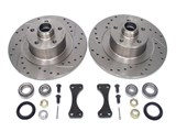 EUROSPEC SPORT REAR BIG BRAKE ROTOR KIT 5x100  /