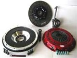 CLUTCHNET STAGE 2 W/ FLYWHEEL KIT (FITS VW MK4 Golf Jetta 02-04 1.8T W/ 6SP, Audi TT MK1) /
