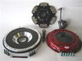 CLUTCHNET STAGE 3 W/ FLYWHEEL KIT (FITS VW MK4 Golf Jetta 02-04 1.8T W/ 6SP, Audi TT MK1) /