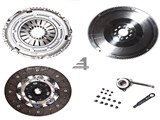 02M 240MM SACHS CLUTCH KIT W/ FST STEEL BILLET FLYWHEEL FITS VW MK4 Golf Jetta 02-04 2.8 24v VR6 W/ /