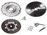 02M 240MM  SACHS CLUTCH KIT W/ FST STEEL BILLET FLYWHEEL (FITS VW MK4 Golf Jetta 02-04 1.8T W/ 6SP, /