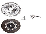 Sachs Clutch Kit  02M  240MM (FITS VW MK4 Golf Jetta 02-04 1.8T & 2.8 24V VR6 W/ 6SP, Audi TT MK1) /