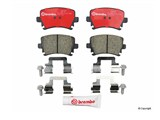 Brembo HD rear brake pad set for 310mm /